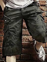 Men's Big Baggy Overalls Code Camouflage Pants