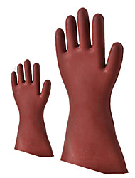 Rubber 12Kv Insulating Gloves for High-Voltage Electrical Operation