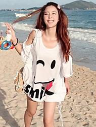Tailles Plus sourire T-shirt de Sueurs froides