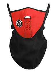 Outdoor Radsport Red Fleece Thermal-Maske
