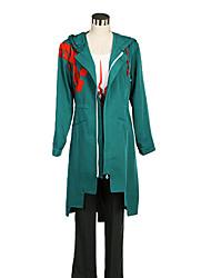 Inspiré par Dangan Ronpa Cosplay Vidéo Jeu Costumes de cosplay Costumes Cosplay Couleur Pleine Blanc / Noir / VertManteau / Veste /