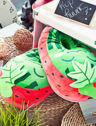 Slide Creativas Red Strawberry lana de la Mujer Slipper