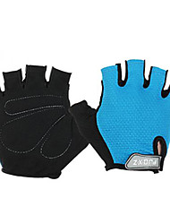 Sports Gloves Cycling Gloves Bike Fingerless Gloves Men's / Unisex Spring / Summer / Autumn/Fall Blue M / XL / L-FJQXZ