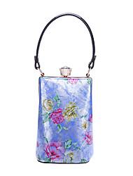 WeiZi Women's Fashion Genuine Cowhide Bucket Type Dual-Use Bag
