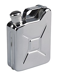 Outdoor Stainless Steel Gas Can shape Flask 1512
