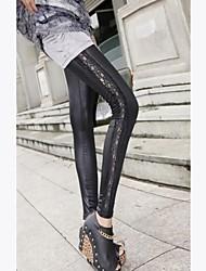 De Side Lace Bodycon afdrukken van Negende Pants
