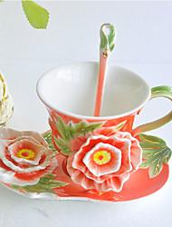Porcelain Coffee Cup Set (More Colors)