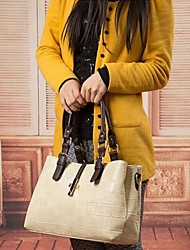Das OPPO BAO Mulheres Padrão Jacaré fechado PU Leather Lining Aleatório Tote 15 * 24 * 37
