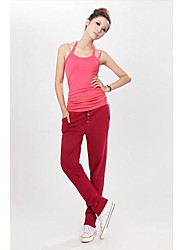 Rmanik Damen Harem Pants Red