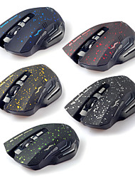 2.4G Wireless Super Dazzle LED Mute Optical Gaming Mouse(Assorted Colors)