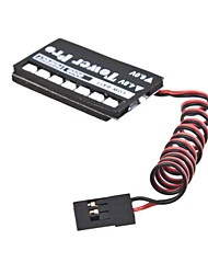 TowerPro 7 LED RC Receiver Battery Low Voltage Monitor Indicator
