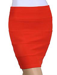 Missmay Frauen Mini-Verband-Kleid Rock