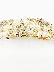 Мода Bling Shinning Diamond Перл Цветок для женщин шпильки ювелирные аксессуары