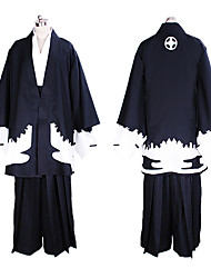 Reborn! Rokudo Mukuro Black Kimono Cosplay Kimono Costume