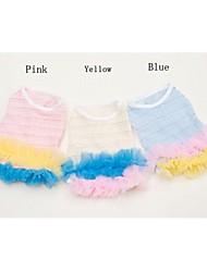 Тысяча слой Pet юбка для Собаки (разных цветов, размеров)