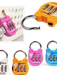 Mini Cartoon Multicolor Padlock