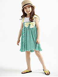 Girl's Chiffon Dress , Summer Sleeveless