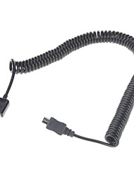 Spring Coiled USB 2.0 to Micro USB Data/Sync/Charger/Cable(3M,Black)
