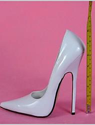 6.3in High Heels Dames Pumps Sexy Shoes Patent Leather Hoge Hakken