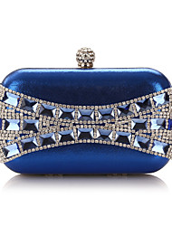 Polyster Wedding/Special Occasion Clutches/Evening Handbags With Rhinestones(More Colors)