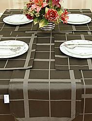 Yarn Dye Coffee Table Cloth