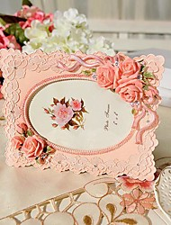 """6"""" Modern European Style Pearl Polyresin Picture Frame"""