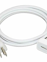 EUA Plug Power Cabo de Extensão para Apple MacBook 45W / 60W / 85W Adaptador AC