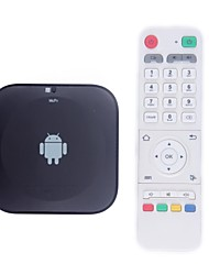 4.2.2 HD808 Quad-Core Android TV Set Top Box Wi-Fi Bluetooth (CPU Qual-Core A31s 1.8GHZ de fréquence)