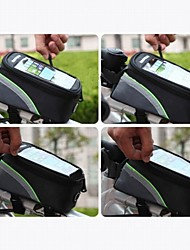 ROSWHEEL® Bike BagBike Frame Bag / Cell Phone Bag Waterproof / Dust Proof / Shockproof Bicycle BagNylon / Polyester / EVC / Waterproof