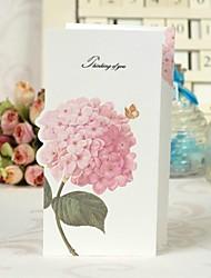 Bloemen Z-vouw kunst wenskaart Papier voor Moederdag