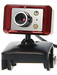 Rectangle Shaped Desktop 8 Megapixel Webcam with Mic Night Vision LED