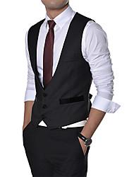 Men's Long Sleeve T-Shirt , Cotton Casual