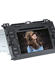 7inch 2 DIN In-Dash bil dvd-spelare för Toyota-Prado 2002-2009 med GPS, BT, iPod, RDS, Touch Screen, TV