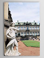 Натянутым холстом постер пейзаж красивый Германия здание