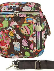 Front Zip Detail  Lovely Cartoon Pattern Bags