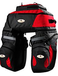 CoolChange Red Cycling Plus Taille transport Sac avec housse de pluie