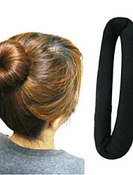 Donuts Band Hair Maker Meatball Head Short Hair Tools Headband