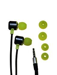 Yongle YL-E2 3.5 stéréo In-Ear pour iPod/iPhone/MP3/PC (vert + bleu + rose)