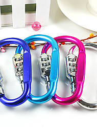 Outdoor Colorful Ring Style Coded Lock(Random Color)