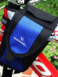 CoolChange 450D PVC Outdoor Multi-Functional Blue Bicycle Front Bag
