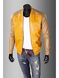 Classical Jacket emenda do plutônio dos homens