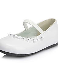 Girl's Shoes Wedding Shoes Mary Jane Flats Wedding/Dress/Party & Evening Black/Pink/White