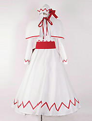 Inspired by TouHou Project Lilywhite Cosplay Costumes