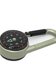 di alta qualità a doppia faccia della catena chiave della bussola + termometro assortita colore