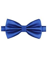 Herrenmode Fest Farbe Royal Blue Bowtie