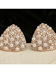 Beloved Diamonade Square Shaped Stud Earrings