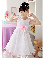 Girl's  Sleeveless Princess Dress