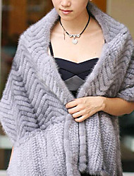 Party/Evening / Casual Feather/Fur Shawls Fur Wraps