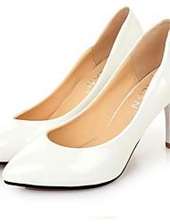 Stiletto salto saltos de couro de patente das mulheres Bombas / sapatos de salto (mais cores)