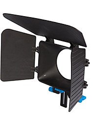 matte box yelangu® de DP500 dslr pour 15mm rail tige suppot accent rig 60d 5DII